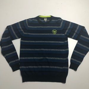 3/$30 Bench Against The Odds Sweater Youth Striped